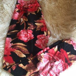 Agnes & Dora floral leggings